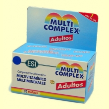 Multicomplex Adultos - Multivitamínico y multiminerales - 30 tabletas - ESI Laboratorios