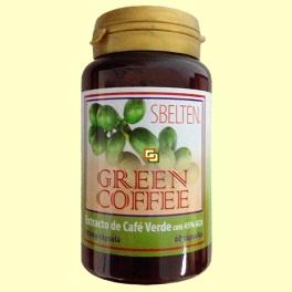 Sbelten Green Cooffee - Control del peso - 60 cápsulas - Dieticlar