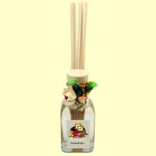 Mini Mikado - Ambientador Hogar decorado Sándalo - 50 ml - Aromalia