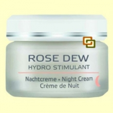 Rose Dew Hydro Stimulant Crema de Noche - 50 ml - Anne Marie Börlind