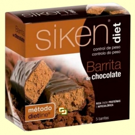 Barrita de Chocolate - 5 barritas - Siken Diet