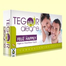 Tegor 18 Alegre - 40 cápsulas - Laboratorios Tegor