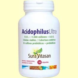 Acidophilus Ultra - 30 cápsulas - Sura Vitasan