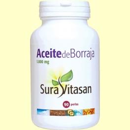 Aceite de borraja biológico - 90 perlas - Sura Vitasan