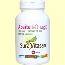 Aceite de Onagra Biológico - 90 perlas - Sura Vitasan