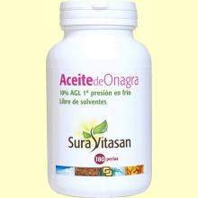 Aceite de Onagra Biológico - 180 perlas - Sura Vitasan