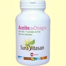 Aceite de Onagra Biológico - 540 perlas - Sura Vitasan