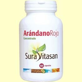 Arandano Rojo 600 mg - 60 cápsulas - Sura Vitasan