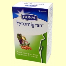 Fytomiran - Cabeza Ligera y Relajada - 40 cápsulas - Bional