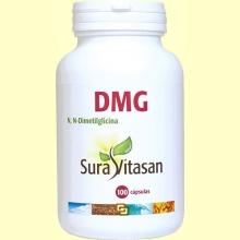 DMG N, N-Dimetilglicina 125 mg - 100 cápsulas - Sura Vitasan