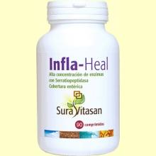 Infla Heal - Mejorar las digestiones - 90 comprimidos - Sura Vitasan