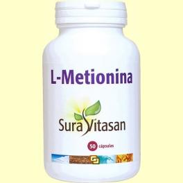 L-Metionina - 50 cápsulas - Sura Vitasan