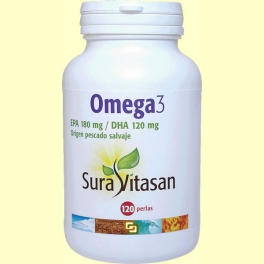 Omega 3 - Sura Vitasan - 120 perlas
