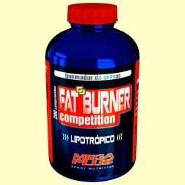 Fat Burner - Quemador de Grasa - 200 comprimidos - Mega Plus