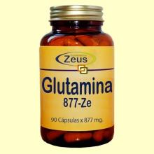 L-Glutamina Ze 877 - 90 cápsulas - Zeus Suplementos