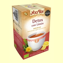 Detox with Lemon - 17 sobres - Yogi Tea