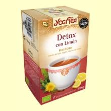 Detox with Lemon - 17 sobres - Yogi Tea