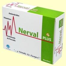 Nerval Plus - Para calmar los nervios - 45 cápsulas - MontStar