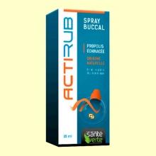 Acti'Rub Spray bucal - Irritaciones garganta - 15 ml - Santé Verte