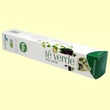 Té verde infusión Bio - Antioxidante - 7 cápsulas - Soria Natural