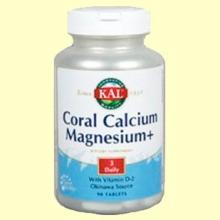 Coral Calcium Magnesium - 90 comprimidos - Laboratorios Kal