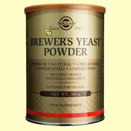 Levadura de cerveza en polvo - 400 gramos - Solgar *