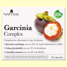 Garcinia Complex - 60 cápsulas - Natysal