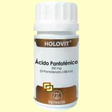 Holovit Ácido Pantoténico 200 mg - 50 cápsulas - Equisalud