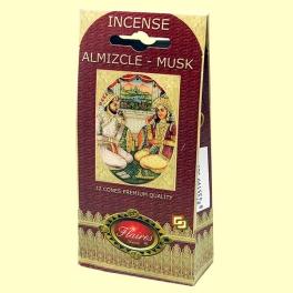 Incienso Cono Almizcle - Musk - Flaires - 12 conos
