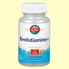 Benfotiamine Plus - 60 cápsulas - Kal Laboratorios
