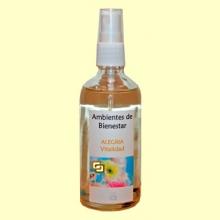 Vitalidad - Alegría - Armonizador Ambiental Floral Gemoterapia - 100 ml - Lotus Blanc