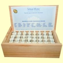 Kit 38 Elixires Dr. Bach 4 ml - Edición Kinesiosología - Lotus Blanc