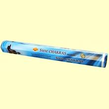 Siete Chakras Incienso - 20 Sticks - SAC