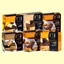 Oferta Especial Siken Diet - 6 Packs Barritas de sabores diferentes