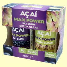 Açaí Max Power - 60 + 60 cápsulas - Novity *