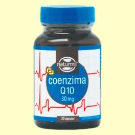 Coenzima Q-10 - 30 cápsulas - Naturmil