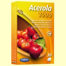 Acerola 1000 - Vitamina C - 30 comprimidos - Orthonat