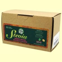 Infusión Stevia bolsitas individuales - 20 sobres - Stevia Osona