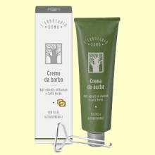 Crema de Afeitar a los Extractos de Baobab y Té Verde para Piel Ultrasensible - 150 ml - L'Erbolario - Uomo