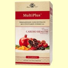Multiplus Cardio Health - 90 comprimidos - Solgar ******