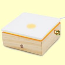 Stonelia Square - Difusor de aceites esenciales con resistencia calefactora - Innobiz