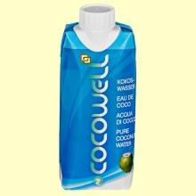 Cocowell - Agua de Coco - 1 litro - 100% Natural