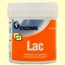Enzime LAC - Equilibrio Intestinal - 60 cápsulas - Enzime