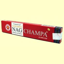 Incienso Nag Champa Agarbathi Rojo - 15 gramos - Vijayshree