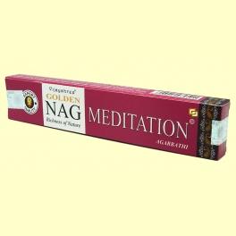 Incienso Nag Meditation Agarbathi - 15 gramos - Vijayshree