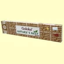 Incienso Nature's Nest - 15 gramos - Goloka