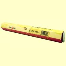 Incienso Natural Citronela - 20 varillas - Tierra 3000