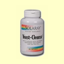Yeast-Cleanse 90 cápsulas de Solaray