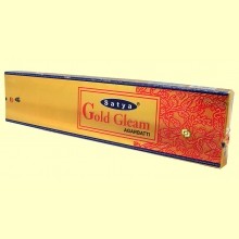 Incienso Gold Gleam Agarbatti - 20 gramos - Satya