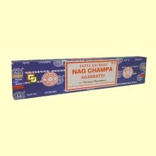 Incienso Nag Champa - 40 gramos - Shrinivas Sugandhalaya